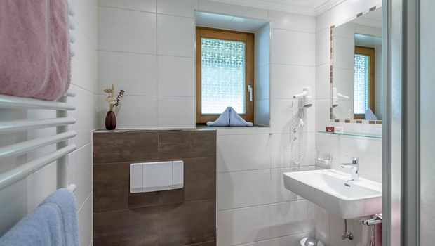 Apart Wiesengrund Badezimmer